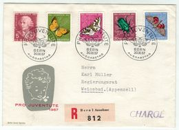 Suisse // Schweiz // Switzerland  // Pro-Juventute // 1957 Lettre 1er Jour Du 01.12.1957 - Lettres & Documents
