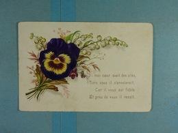 Mignonette Fleurs Relief Si Mon Coeur Avait Des Ailes,... - Fleurs