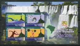 Sri Lanka 2016 / Olympic Games Rio De Janeiro MNH Juegos Olímpicos Olympische Spiele / Cu7921  41-15 - Verano 2016: Rio De Janeiro