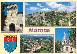 84 MORNAS / MULTIVUES AVEC BLASON - Francia
