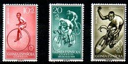GUINEE ESPAGNOLE. N°410-2 De 1959. Cyclisme. - Ciclismo