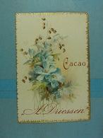 Mignonette Publicité Cacao A.Driessen - Publicité