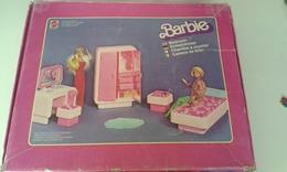 Chambre à Coucher De Barbie Mattel 1977 Boite Et Notice Et Accessoires Et Barbie - Barbie