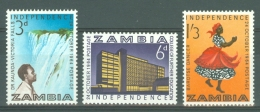 Zambia: 1964   Independence     MH - Zambia (1965-...)