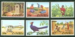 Zambia: 1975   Pictorials Set    SG226-239   MNH - Zambia (1965-...)
