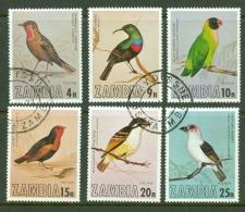 Zambia: 1977   Birds Of Zambia    Used - Zambia (1965-...)