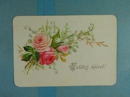 Mignonette Fleurs Reliefs Boldog Ujévet - Fleurs