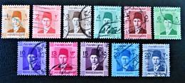 ROYAUME - ROI FAROUK 1937/44 - OBLITERES - YT 187/95A - Egypt