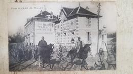 CPA CAMP DE MAILLY - Entrée Du Camp - Bazar Militaire, Tabac - Très Belle Animation - WW1, MILITARIA - Mailly-le-Camp
