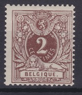 N° 44 XX  Neuf ( Gomme Sans Charniere )  **  COB  60.00 - 1869-1888 Lion Couché (Liegender Löwe)