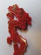 011 - Touilleur - Agitateur - Mélangeur à Boisson - Restaurant Dragon Rouge - Swizzle Sticks