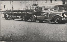 FDNY 1937 Seagrave 85' Spring Hoist Aerial Ladder, 1984 - Raum Postcard - Trucks, Vans &  Lorries