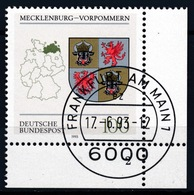 RFA - Mecklembourg-Poméranie YT 1513 Obl. / Bund - Mecklenburg-Vorpommern Mi.Nr. 1661 Gest. - BRD