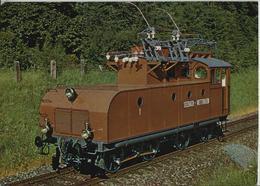 Verkehrshaus Der Schweiz, Luzern - Erste Einphasenwechselstromlokomotive Der Welt 1904 - LU Lucerne