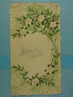 Mignonette Dépliable Relief Souvenir D'amitié - Fleurs