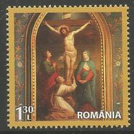 RO 2017 ESTER, ROMANIA, 1 X 1v, MNH - Ostern