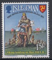 Eiland Man - Eröffnung Des Postdienstes Unter Eigener Posthoheit - MNH - M 28 - Post
