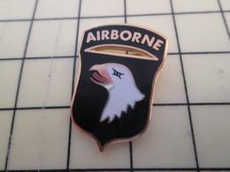 Pin2217 Pin's Pins / Beau Et Rare / THEME MILITARIA : DEBARQUEMENT NORMANDIE INSIGNE DIVISION PARAS US AIGLE - Army