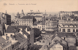 Cpa,ostende,oostende,belgique  En 1928,panorama Vers Kursaal,hotel Café Restaurant,rare - Oostende