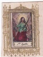 Ancien Canivet Image Pieuse Ste AGATHE - Andachtsbilder