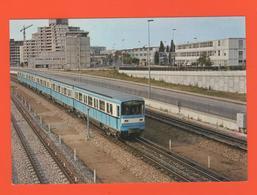 PL/2  R A T P LIGNE METRO 8 BALARD CRETEIL PREFECTURE RAME MF 67 E 1975 /76  SERIE TRAMWAYS METROS  Tramway - Treinen
