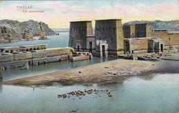 Afrique,1934,ancienne Ile D'égypte PHYLAE,submergée Par Les Eaux Du Lac Barrage D'assouan En 1970,ruine Temple,rare - Egypt