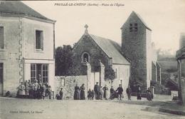 72 - Pruillé-le-Chétif (Sarthe) - Place De L'église - France
