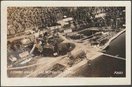 O'Connell Lodge, Lac Des Loups, Quebec, 1953 - ASNL RPPC - Quebec