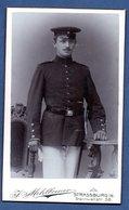 Photo   --   Soldat Allemand  --  Atelier Mehlbreuer  -  Strasbourg - Guerre, Militaire