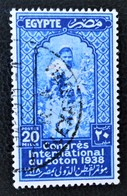 ROYAUME - CONGRES INTERNATIONAL DU COTON AU CAIRE 1938 - OBLITERE - YT 205 - MI 243 - Egypt