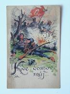 Prima Guerra Pubblicitaria Pubblicita Militare Cechi Legione 1918 PAMATNIK ODBOJE Cutty - Italia