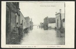 ARGENTINA: Inundacion De SANTA FÉ - Calle San Luis (Norte) - Junio De 1905 - Argentine