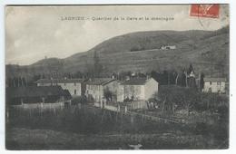 LAGNIEU (01) - Quartier De La Gare Et La Montagne - Autres Communes