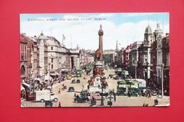 Cartolina Irlanda - Dublino - O'Connell Street And Nelson Pillar - 1959 - Non Classificati