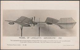 Model Of Langley's Aerodrome, C.1930s - Science Museum RP Postcard - ....-1914: Precursors