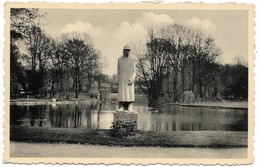 CPA PK  VILVOORDE  STADSPARK MET MONUMENT KONING ALBERT - België