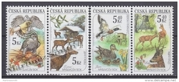 Czech Republic - Tcheque 2000 Yvert 256-59 Hunting Fauna- MNH - República Checa