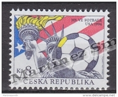 Czech Republic - Tcheque 1994 Yvert 43 USA Football World Cup - MNH - República Checa