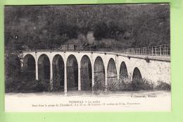 MONSOLS - Le VIADUC Avec Passage Du TRAIN - Gorge Du Chatelard - 2 Scans - France