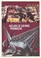 ITALIA SCUOLA GENIO PIONIERI ANNO 1975 VIAGGIATA - Regiments