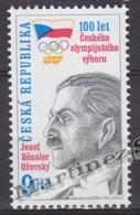 Czech Republic - Tcheque 1999 Yvert 209 Centenary Czech Olympic Committee - MNH - República Checa