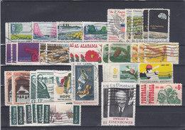 USA - 1969 - O/FINE CANCELLED - VETERANS, GRANDMA MOSES, APOLLO 8, HANDY, CALIFORNIA .... - Etats-Unis