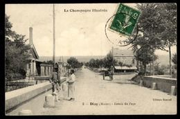 DIZY - (Marne) - Entrée Du Pays - Other Municipalities