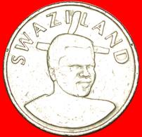 √ 2 PORTRAITS: SWAZILAND ★ 1 LANGENI 2002! LOW START ★ NO RESERVE! Mswati III (1986-) - Swaziland