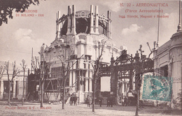 CPA - Esposizio / Exposition Milan 1906 N° 22  Aeronautica (Parco Aereostatico) - Ausstellungen