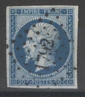 France - YT 14A Oblitéré PC 1792 Luçon Vendée TB - 1853-1860 Napoleon III