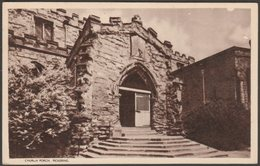 Church Porch, Pickering, Yorkshire, C.1930s - Boak & Sons Postcard - England