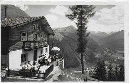 AK 0909  Edelweiß-Hütte Mit Blick Auf Sölden - Photo Lohmann Um 1950 - Sölden