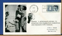 USA - 1965 - GEMINI GT-5 - 8 DAYS IN SPACE - ASTRONAUT CONRAD And COOPER RETURN TO HOUSTON - REUNION WITH FAMILIES - Stati Uniti