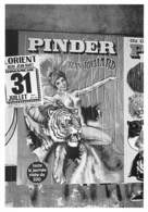 Affiche Cirque  PINDER  Jean RICHARD Lorient  1988--Yvon KERVINIO éd L'Aventure Carto AC 90/81 -*PRIX FIXE - Circo